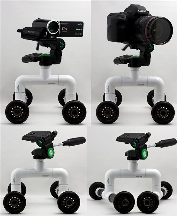 pvc camera dolly