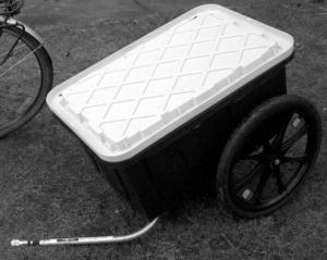 BikeRev EcoShopper trailer