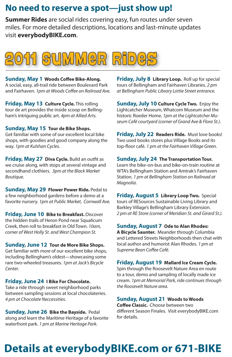 Summer Rides Invitation Details
