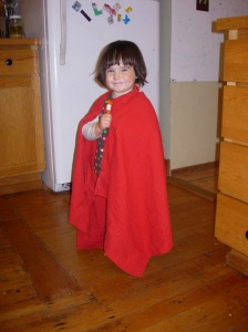 picture of Ellie with red cloak 2012-10-27