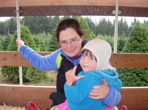 picture of Roz and Ellie at Stony Ridge Farm 2012-10