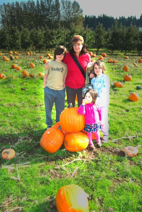 Stony Ridge Pumpkin Portrait 2013-10-12