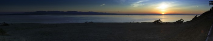 Fort Ebey Sunset - 5900x1152